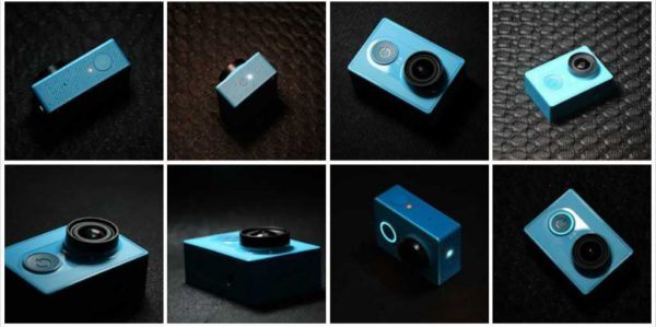 Gizlogic-Xiaomi Action Camera couleurs