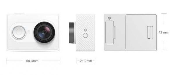 Gizlogic Yi action camera