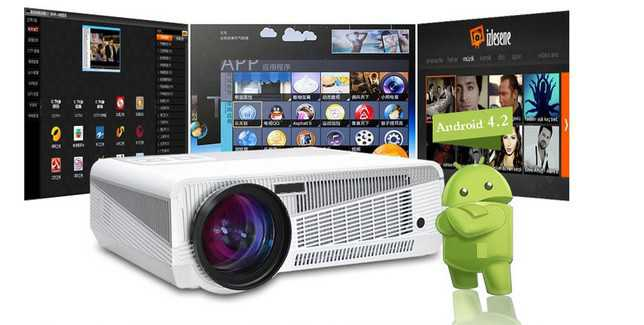 video projecteur led 86 android