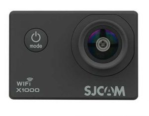 La SJCAM X1000 est présentée comme substitut de la SJ4000.