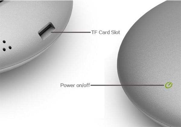 Le bouton d'allumage tactile et le port Micro SD sont les seuls détails que nous trouvons dans la partie supérieure du Meegopad T04.