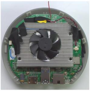 Le Meegopad T04 dispose d'un bon système de refroidissement, ce qui fait que nous pouvons le laisser allumer longtemps.