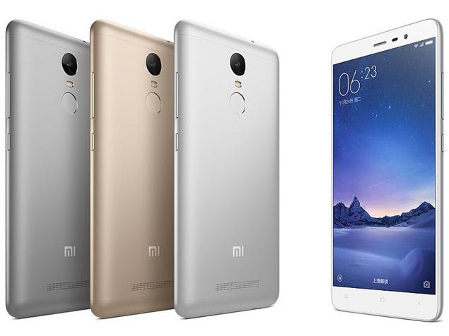 Couleurs métalliques et élégantes pour le Xiaomi Redmi Note 3