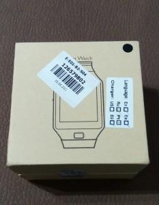 Caisse de la Smartwatch DZ09