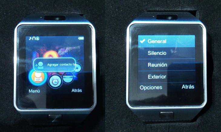 Exemple de quelques fonctions que possède la smartwatch chinoise DZ09