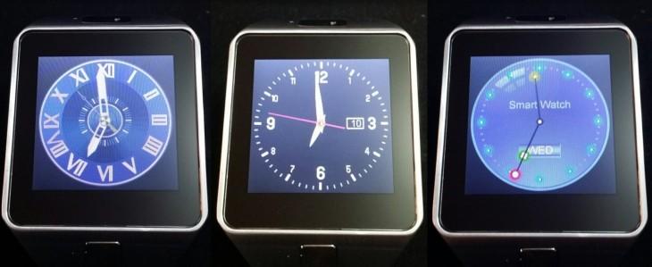 Les watchfaces de la DZ09
