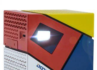 Doogee-P1 a une forme cubique