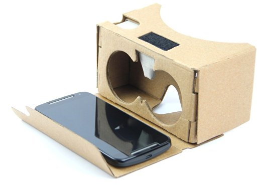 Lunettes pour la réalité virtuelle en carton
