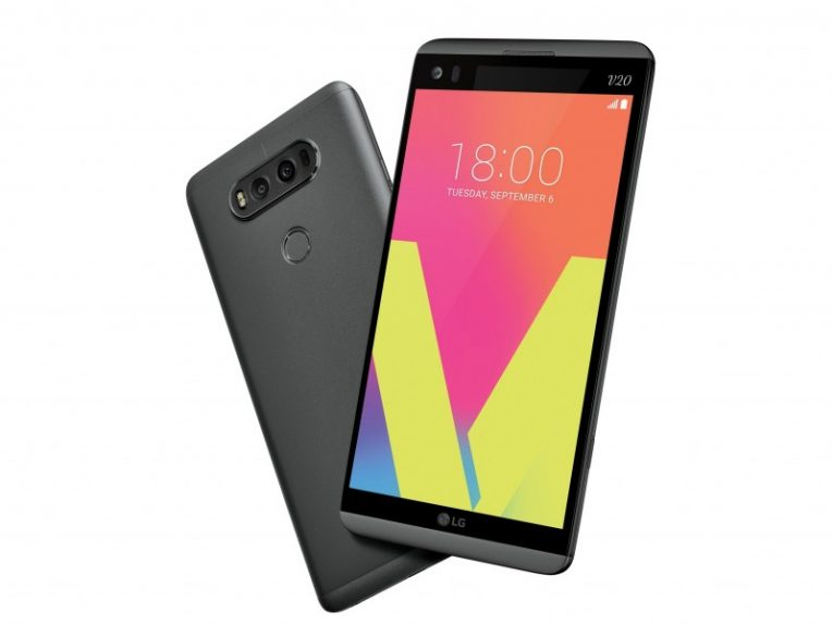 Aspect physique du LG V20