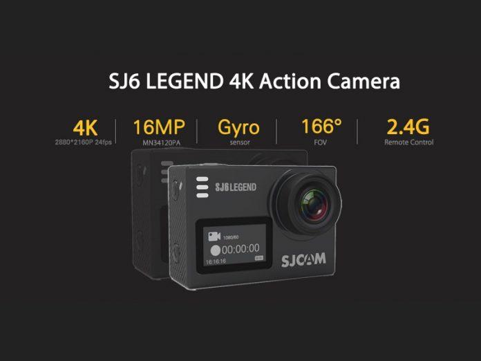 SJCAM SJ6 Legend, un nouveau lot de caméra de sport