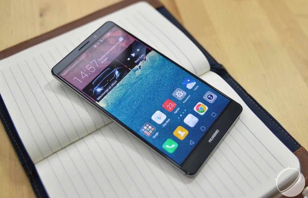 Voici comment se présente le Huawei mate 8