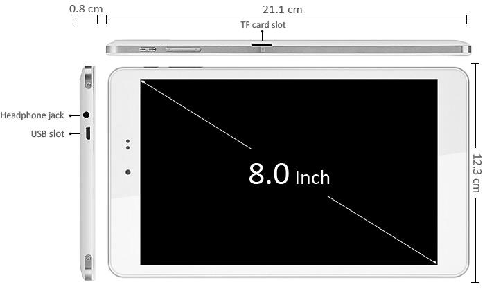 Classement tablette Dual Boot Chuwi Hi8