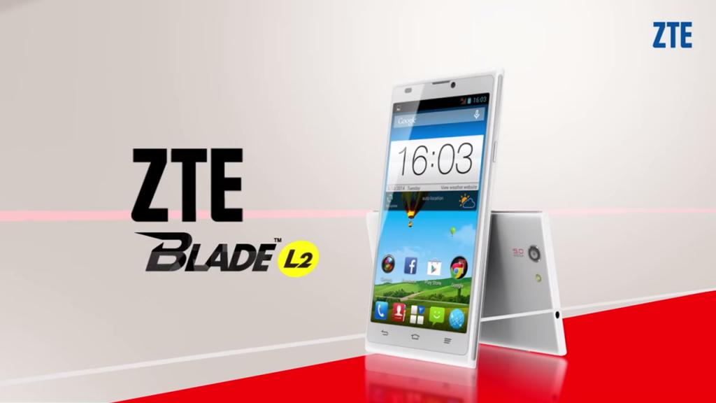 ZTE Blade L2 disponibilité