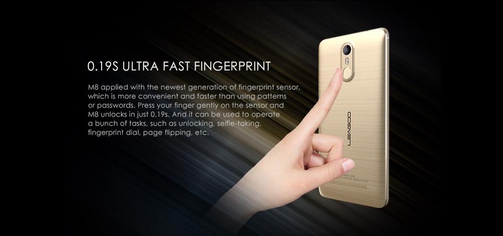 Leagoo M8 Fingerprint