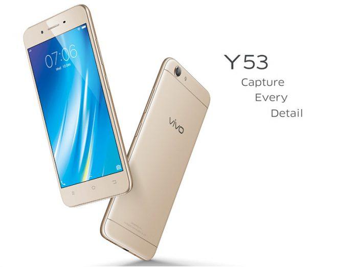 Vivo Y53 : un smartphone économique pour tout le monde