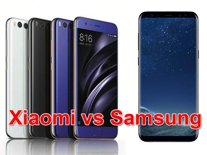 Xiaomi Mi6 ou Galaxy S8 : quel est le meilleur ?