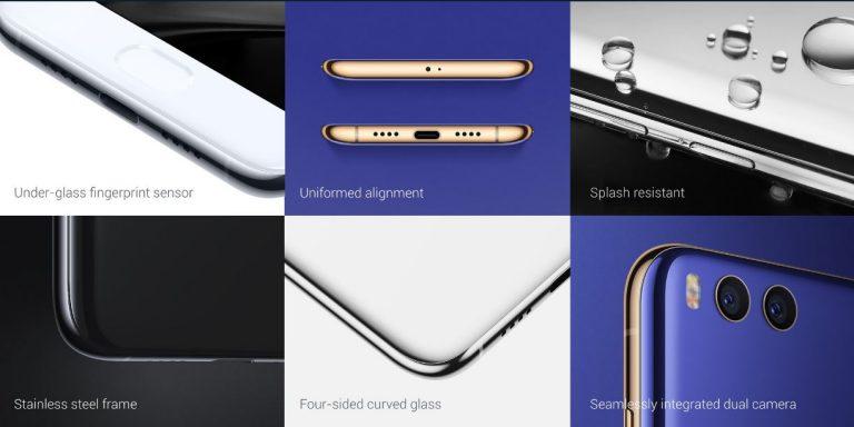Xiaomi Mi6 design