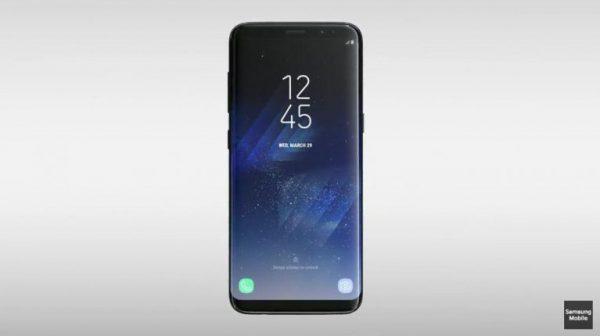 L'écran du Samsung Galaxy S8 est un de ses premiers atouts