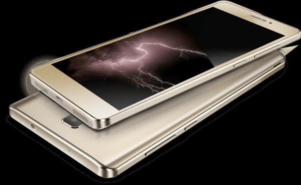 Un smartphone format phablette d'écran 5,5 pouces