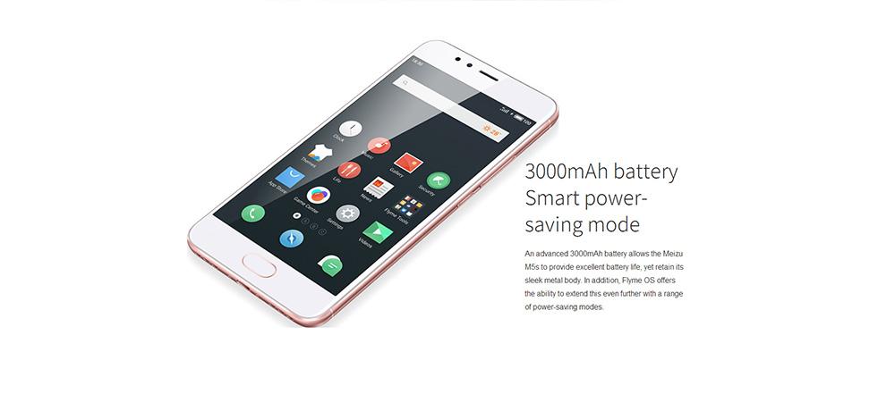Meizu M5S, Batterie