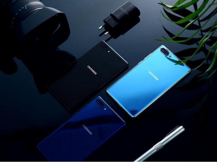 Doogee Mix le nouveau smartphone sans bords