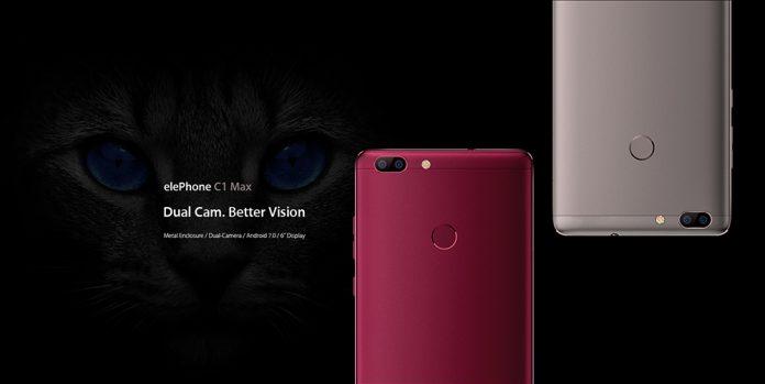 Elephone C1 Max : une phablette low cost avec double caméra