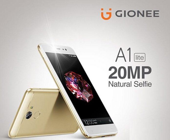 Gionee A1 Lite : le pro du selfie