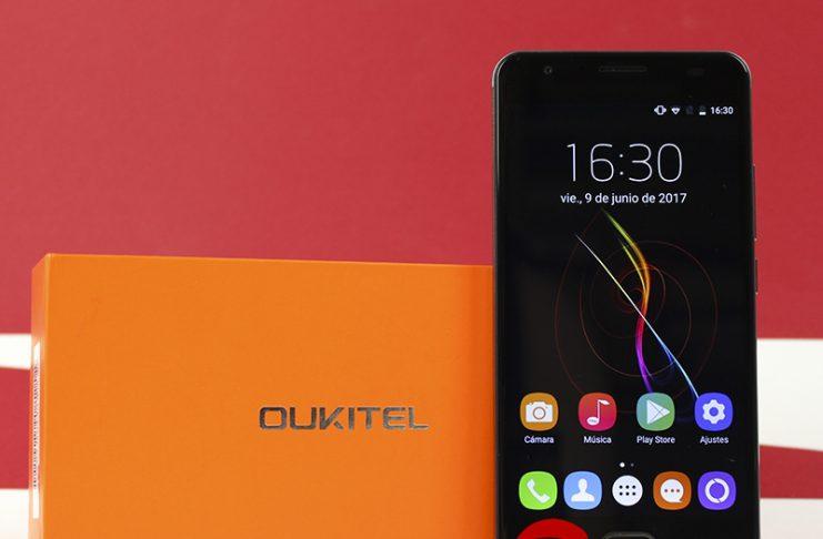 Oukitel K6000 Plus a