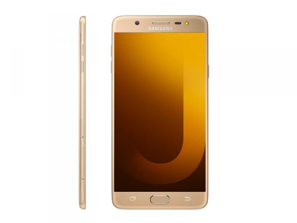 Vue de face et de profil du Samsung Galaxy J7 Pro