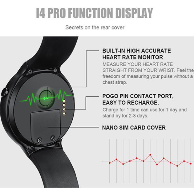 I4 Pro Heart Rate Smart