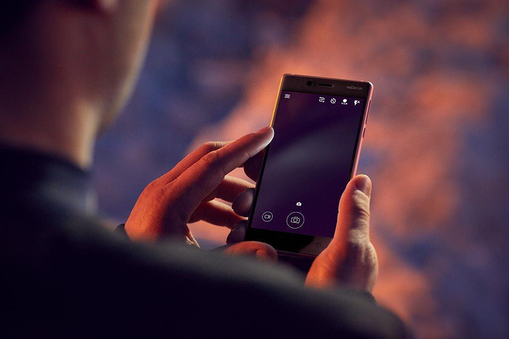 Interface photo Nokia 5