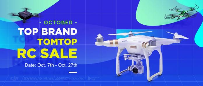 Une vente exceptionnelle pour les drones chez Tomtop