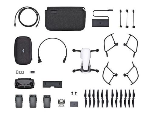 Dji Mavic Air contenu