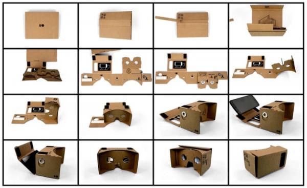 Procédure de montage pour Google CardBoard